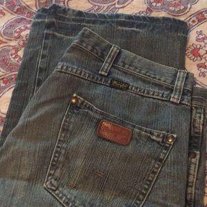 Men's Wrangler Bootcut Jeans light wash 34x30